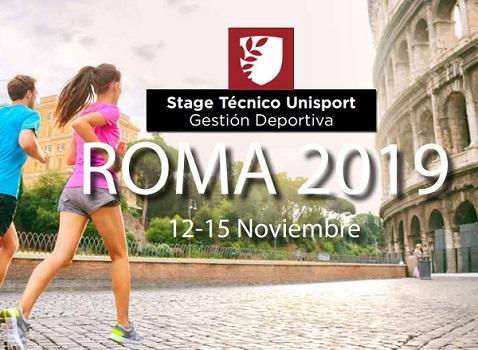 Stage Técnico Unisport Roma 2019