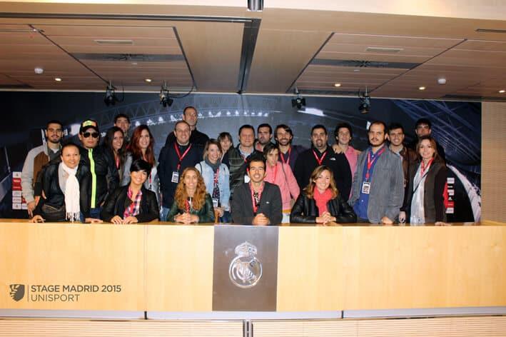 Imágenes Del Stage Técnico De Gestión Deportiva En Madrid