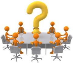 La dirección de reuniones en un centro deportivo