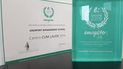 Unisport, Sello Cum Laude Emagister