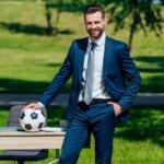 entrenador balon traje unisport