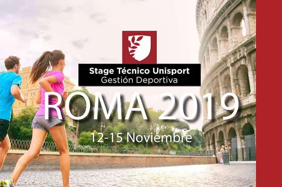 Stage Roma 2019 | UNISPORT | Escuela de Negocios del Sector Deportivo