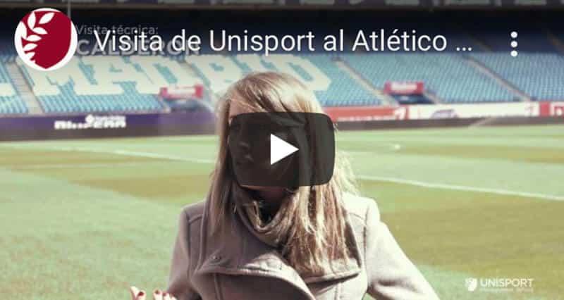 Visita Unisport Atlético Madrid | Escuela de Negocios del Sector Deportivo