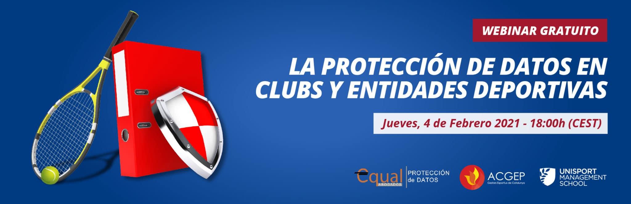 La protección de datos en clubs y entidades deportivas | Unisport Talks | Unisport Management School