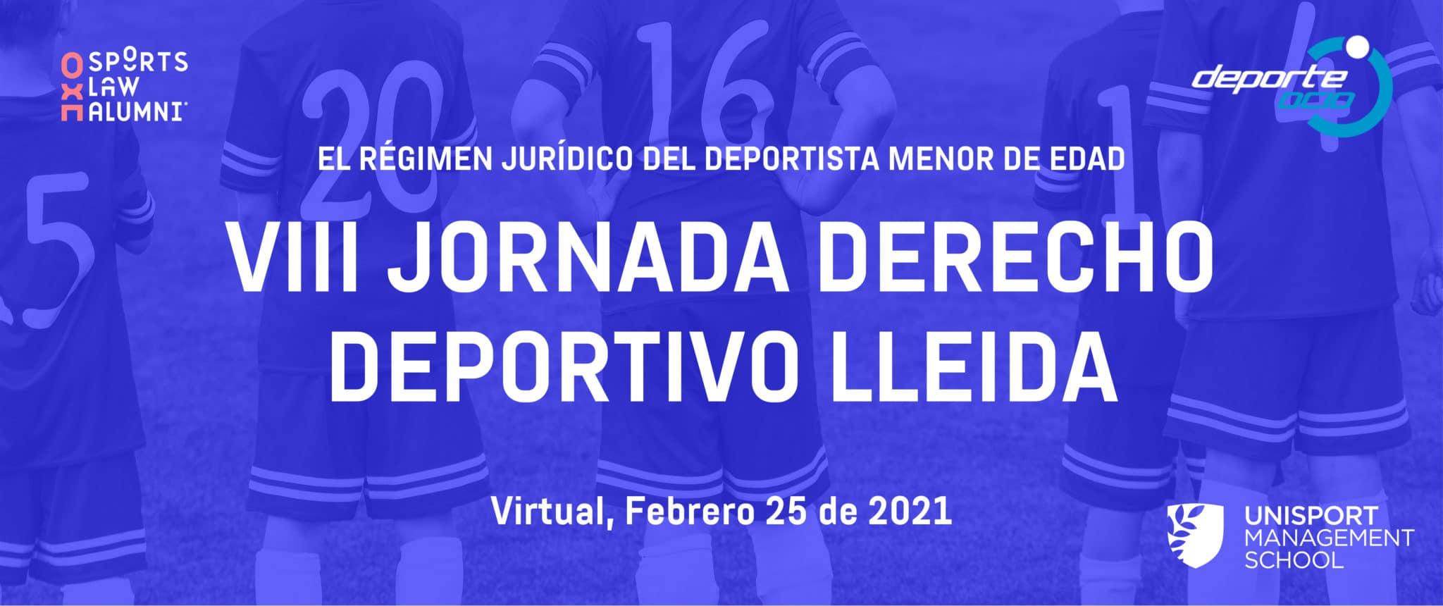 VIII Jornadas Derecho Deportivo - Unisport Management School
