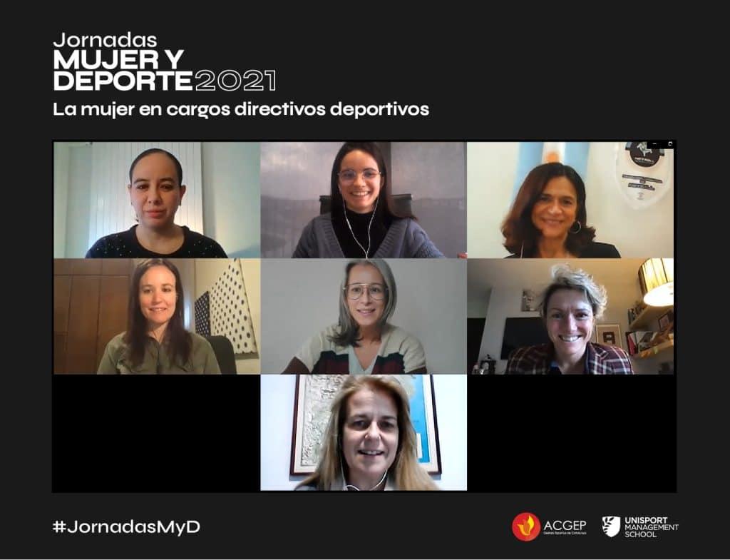 La mujer en cargos directivos deportivos | Jornadas Mujer y Deporte 2021
