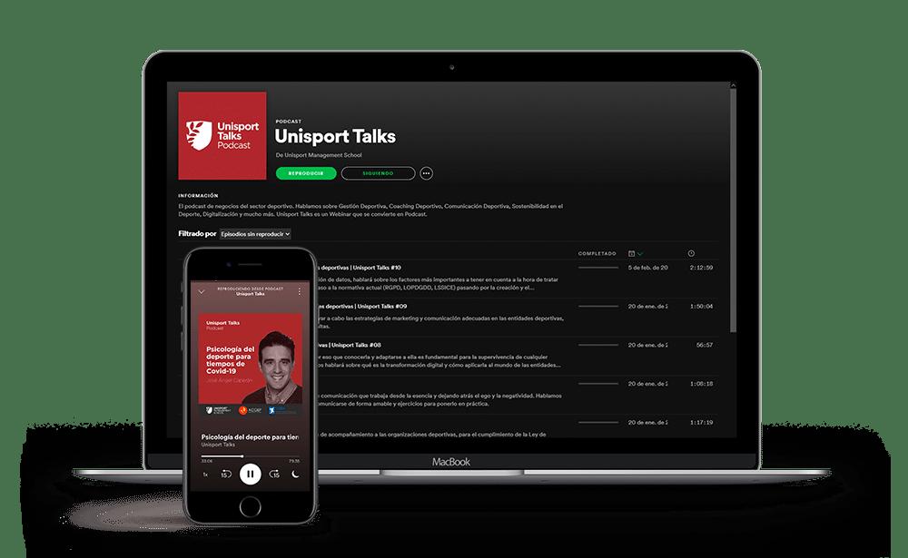 Unisport Talks Podcast ya en Spotify
