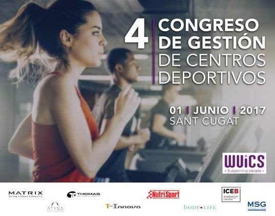 Cartel de 4º Congreso de Gestión de Centros Deportivos en Sant Cugat